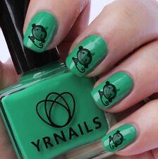 Uñas Wraps Nail Art transferencias de agua Calcomanías-Cute Monkey-S120