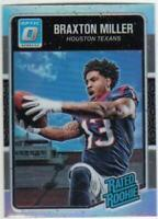 2016 Donruss Optic Holo Refractors Rated Rookies & Rookies RC NFL Football Cards