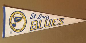Vintage St Louis Blues Pennant 1978