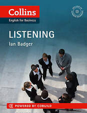 COLLINS ENGLISH FOR BUSINESS LISTENING BOOK & CD / IAN BADGER 9780007423217