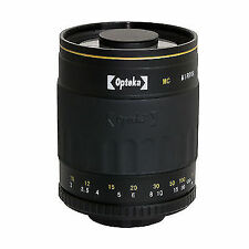 Fixed/Prime SLR Telephoto Camera Lenses