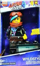 WYLDSTYLE LUCY LEGO MOVIE Girl Digital Light Up Alarm Clock VGC UNIQUE GIFT L@@K
