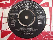 Elvis Presley 45 Kissin' Cousins/It Hurts Me (RCA Victor 1404, UK)