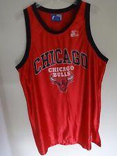 RARE Vintage 1990's Chicago Bulls NBA Swingman Jersey Men 2XL 54 Made by Starter