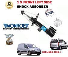 pour Citroën Berlingo MPV + CAMIONNETTE 2008->1x Côté GAUCHE AMORTISSEUR AVANT