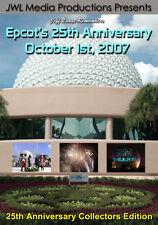 Epcot's 25th Anniversary Oct,1 2007 DVD Walt Disney World IllumiNations Finale
