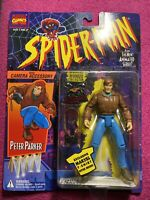 spider man the animated series Peter Parker With Camera Accessory Toy Biz 1994