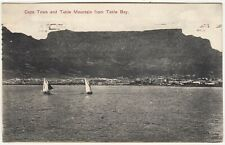 SOUTH AFRICA - Table Bay - Cape Town & Table Mountain - 1910 used postcard