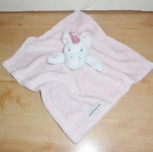 BNWT Blankets and Beyond UNICORN baby comfort soothing blanket comforter