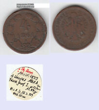 stampsdealer 4 Kreuzer 1861 A ex Slg. Horn Randschäden (T2089
