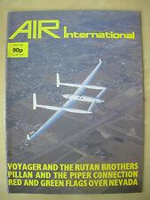 AIR INTERNATIONAL MAGAZINE APRIL 1985 RUTAN VOYAGER