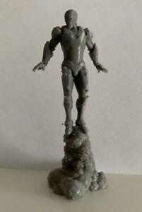 IRON MAN BLASTING OFF (Custom Pose MARVEL Crisis Protocol) NEW UNPAINTED!