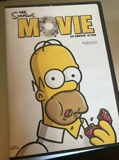 The Simpsons Movie (DVD, 2007, Canadian; Widescreen) English/French/Spanish