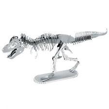 Tyrannosaurus Rex 3D-Metall-Bausatz Silver-Edition Metal Earth 1099