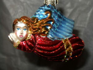Old World Christmas Ornament. Angel