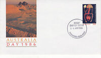 AUSTRALIA 24 JANUARY 1986 AUSTRALIA DAY OFFICIAL FIRST DAY COVER SHS