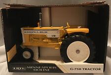 ERTL G 750 Yellow Tractor 1:16 Scale Minneapolis Moline Die Cast Metal 1995