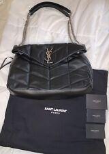 YSL Black Shoulder Crossbody Bag Preowned