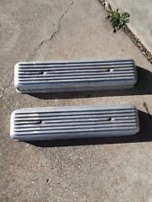 Vintage Oldsmobile 303 324 valve Covers weiand moon cal custom olds 88 rocket