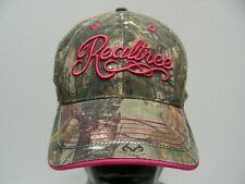 REALTREE - CAMOUFLAGE - LADIES ONE SIZE (56CM) ADJUSTABLE BALL CAP HAT!