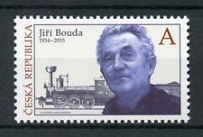 Czech Republic 2018 MNH Jiri Bouda Stamp Designer 1v Set Trains Rail Stamps