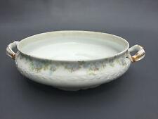 Antique porcelain vegatable bowl, HAVILAND LIMOGES 1900's France