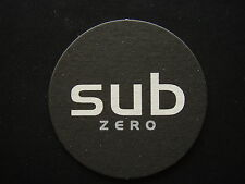 SUB ZERO THE FUTURE OF DRINKING HAS JUST BEEN DEFINED COASTER