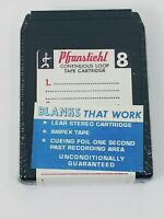 Pfranstiehl New Sealed blank 8 track tapes. NOS. Read Notes. 35 min tapes