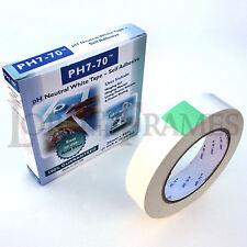 2 Rolls of 25mm x 66m PH7-70 Acid Free Conservation Tape Hinging Mounts & Prints