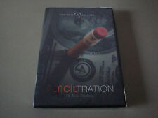PENCILTRATION DVD & GIMMICK BY JESSE FEINBERG & CRISS ANGEL MAGIC BILL TRICKS