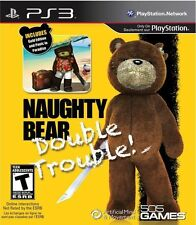 Naughty Bear Double Trouble NO DLC Playstation 3 Ps3