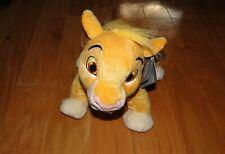 Disney Store Simba Cub Plush NEW Stuffed Animal Cat Genuine Authentic Lion King