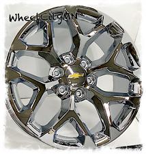 20 Inch Chrome Snowflake 2018 Chevy Silverado Tahoe Ltz Oe Replica Wheels 6x55