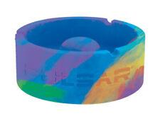 Pulsar Tap Tray Basic Silicone Round Ashtray - Tie-Dye