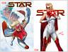 STAR #1 REG & J SCOTT CAMPBELL VARIANT SET (NM) 2020 Captain Marvel / Comics