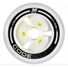 Matter Code White F2 Inline Speed Skate Wheels 110mm
