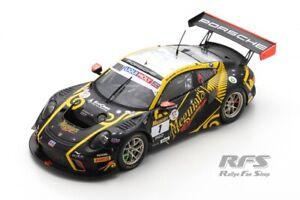 Porsche 911 GT3 R 12h Bathurst 2020 Bamber Vanthoor 1:43 Spark SAS 049 NEU
