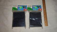 Lot of 2 Hush 35 Power Aquarium Filter Elite Foam Cartridge  Aquarium Fish Tank