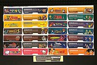 Game Boy Advance AGB-001 Console Back Sticker Set of 2