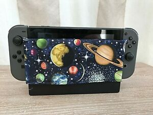 Nintendo Switch Dock Sock - Dock Cover - Screen Protector - Planets Sleeve