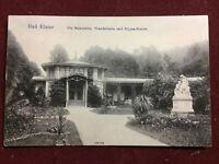 BAD ELSTER die Salzquelle, Wandelbahn und Hygea-Statue- gelaufen 1908