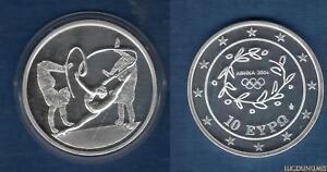 Grèce 2003 10 Euro Gymnastique Rythmique Jeux Olympiques été Athénes 2004 - Gree