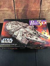 Puzz 3D Star Wars Millennium Falcon Puzzle 857 Pieces Partly Built