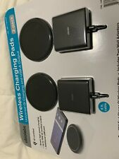 Ubiolabs Wireless Charging Pads 2 Pack, Smart Hight Speed Charging10 Certified