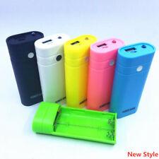 5600mAh Batterie Secours Chargeur Power Bank 2x18650 Case Pour iPhone Samsung