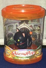 Vintage Tomy 2003 Micropets Black Cat New In Package