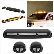 3 pcs/set super bright jaune led voiture pickup suv cab toit marqueur feu de circulation