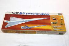 Vintage Revell SST Supersonic Clipper Kit plástico modelo - 2 Modelos-iniciado.