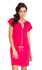 Nursing 100% cotton nightdress nightshirt 8 10 12 14  breastfeeding