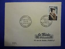 LOT 12788 TIMBRES STAMP ENVELOPPE CELEBRITES FRANCE FRANCIA ANNEE 1964